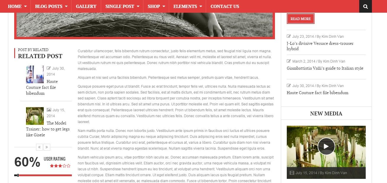 новые шаблоны wordpress октябрь 2015 600