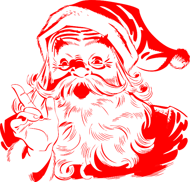 новогодние картинки дед мороз 25