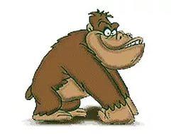 новогодние картинки обезьяна 10