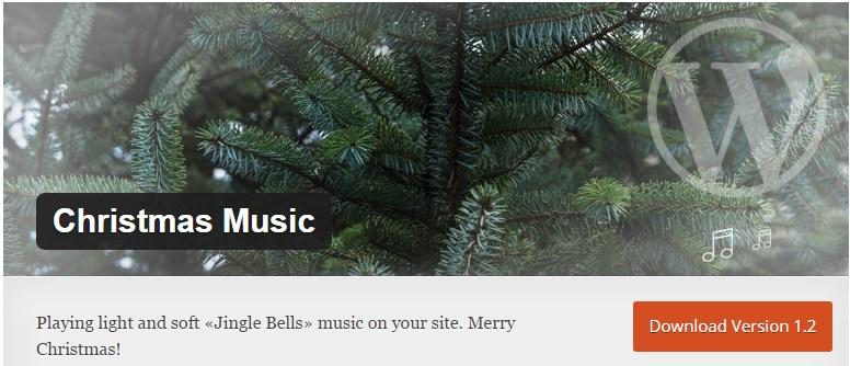 Новогодний плагин Christmas Music