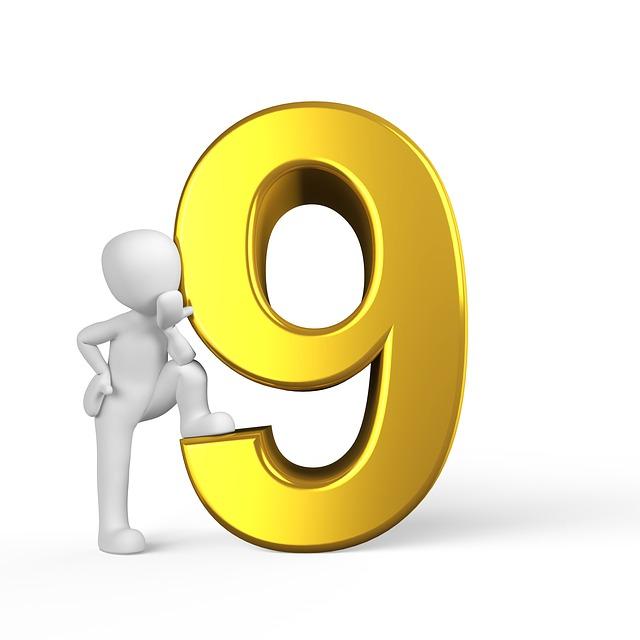 Цифры от 1 до 10 картинки для печати набор 5
