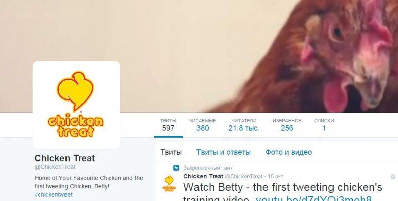 Курица в твиттере или реклама сайта в соцсетях без вложений