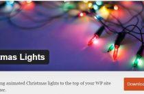 Гирлянда на сайт — новогодний плагин Christmas Lights