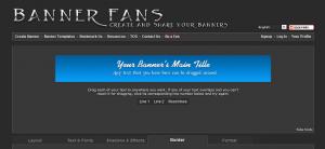 баннер онлайн бесплатно