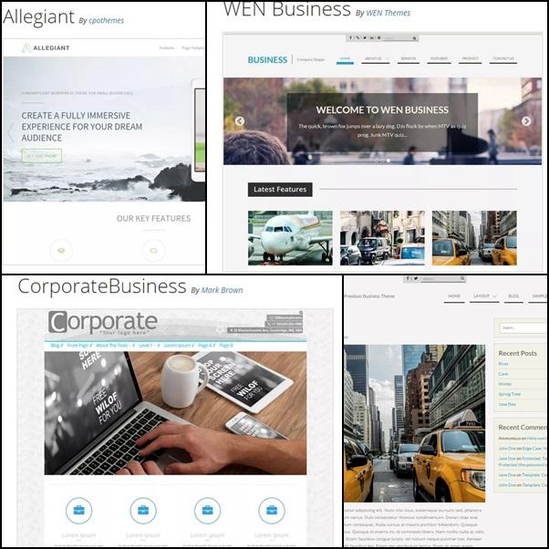 бизнес темы для сайта