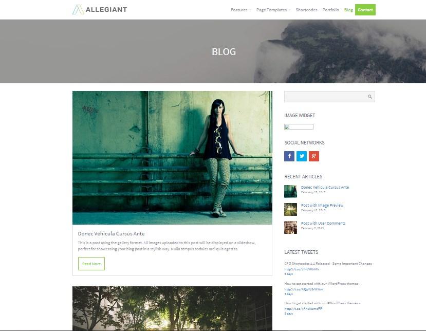 новые шаблоны wordpress октябрь 2015 03