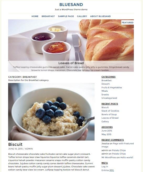 новые шаблоны wordpress октябрь 2015 2