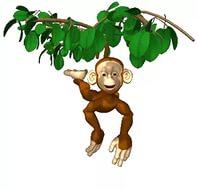 новогодние картинки обезьяна 11