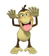 новогодние картинки обезьяна 9