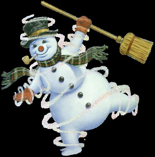 новогодние снеговики картинки 12