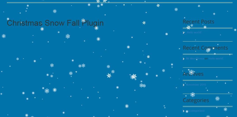 плагин снег 3.1